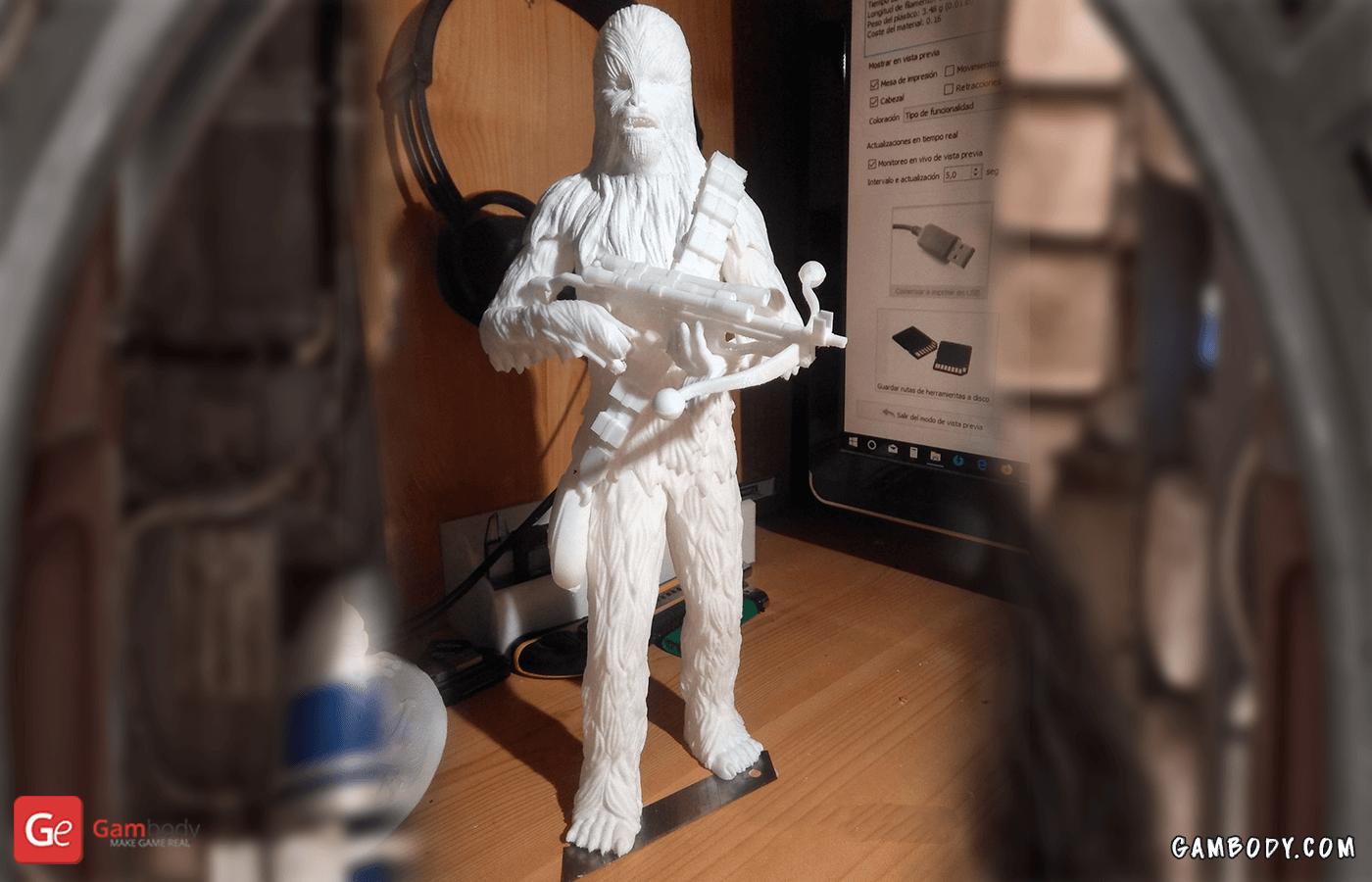 Chewbacca 3D Printing Figurine Photo 2