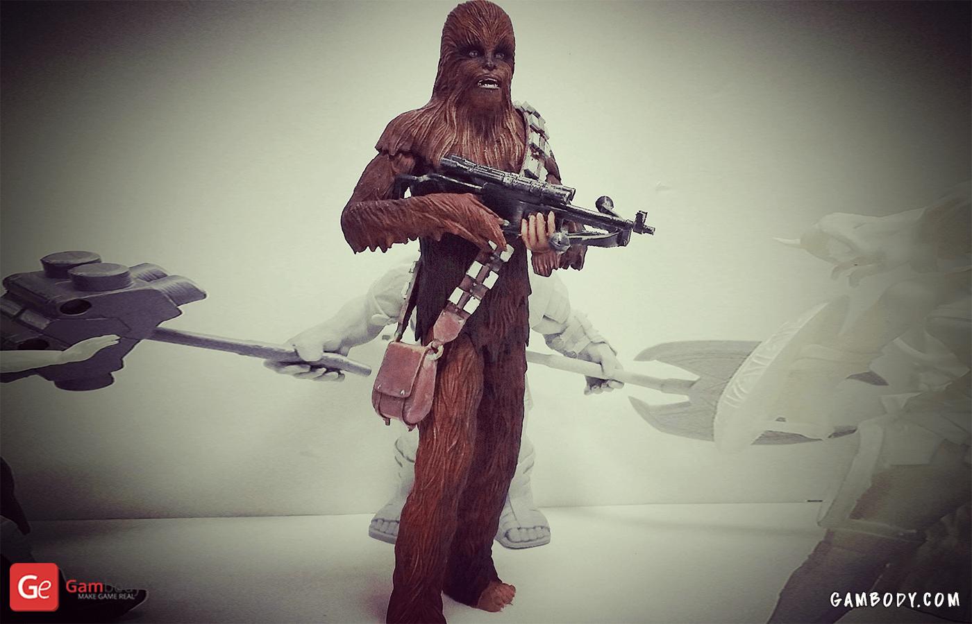 Chewbacca 3D Printing Figurine