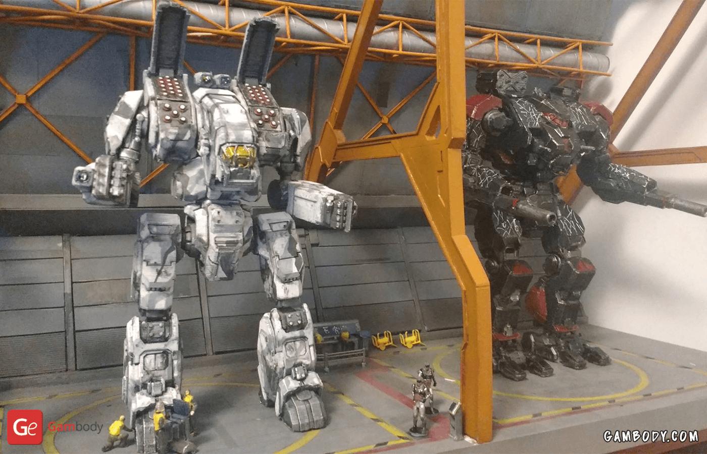 Arche, Battlemaster 3D Printing Model