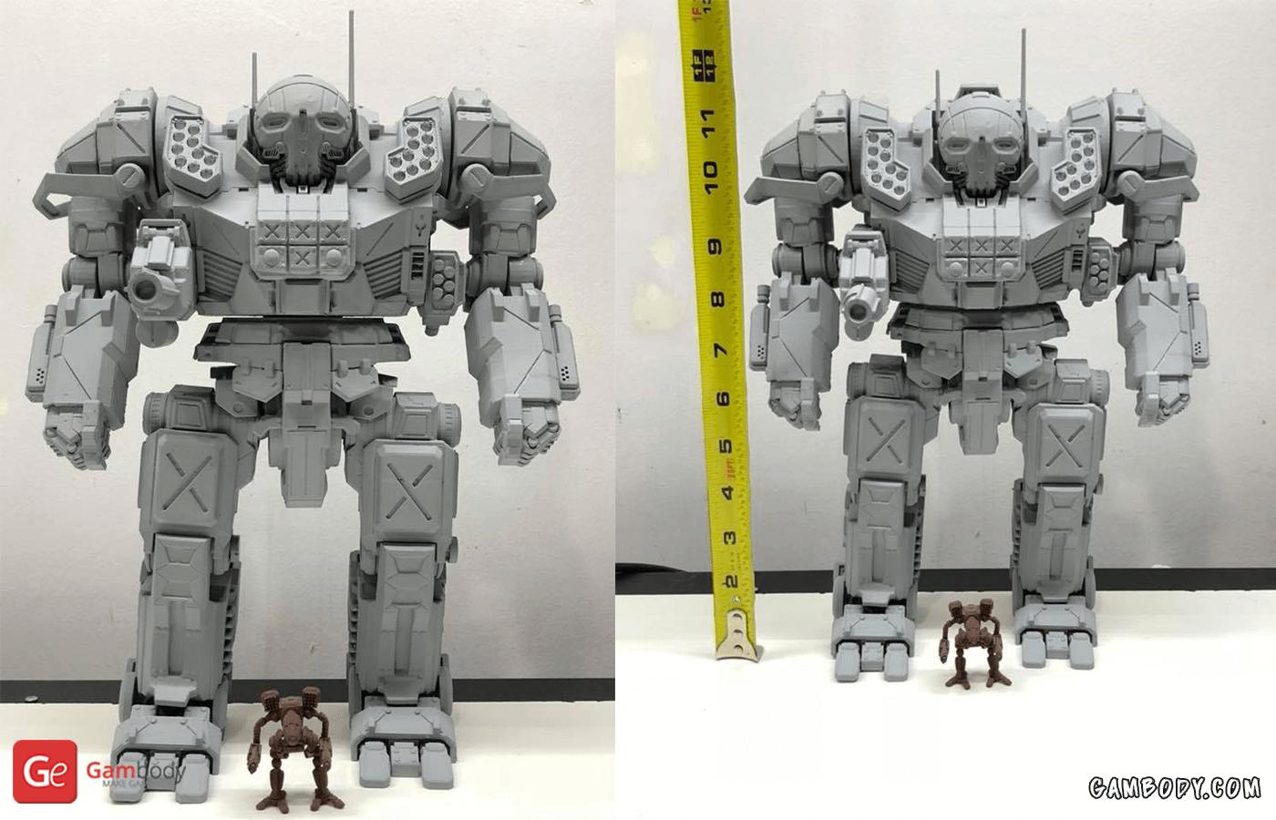 Atlas 3D Printing Model