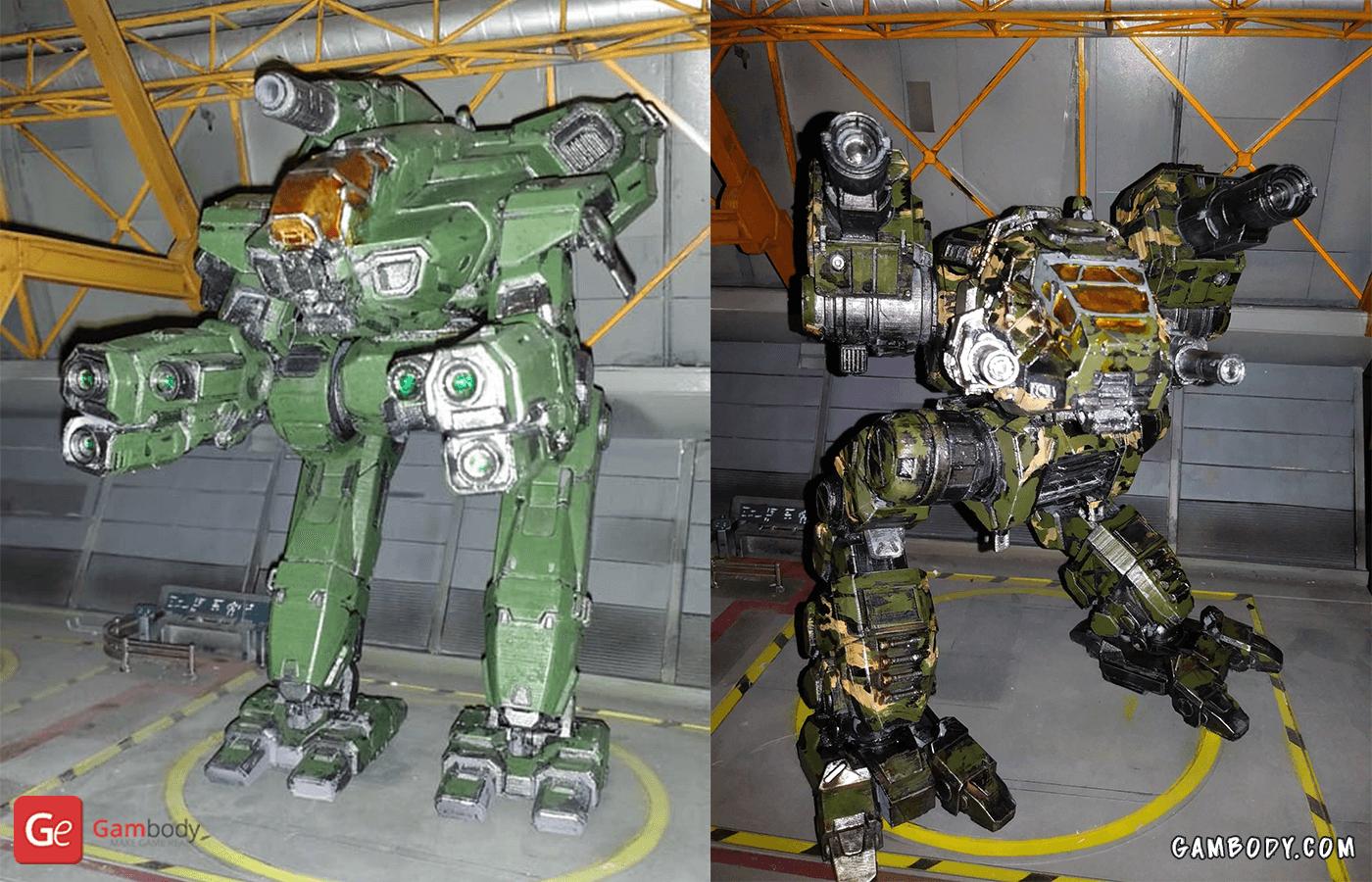 Marauder, Catapult 3D Printing Model