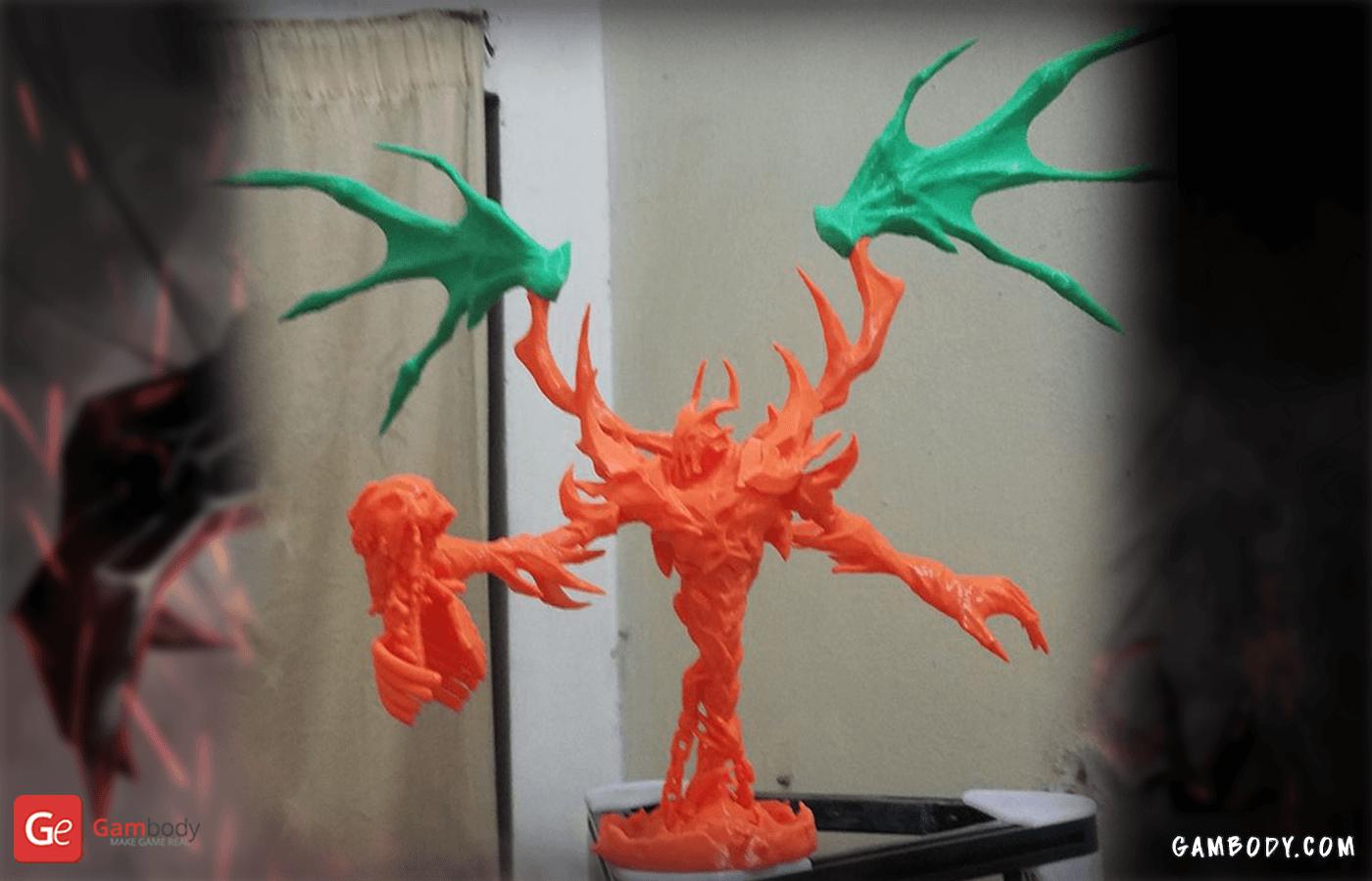 Shadow Fiend 3D Printing Figurine