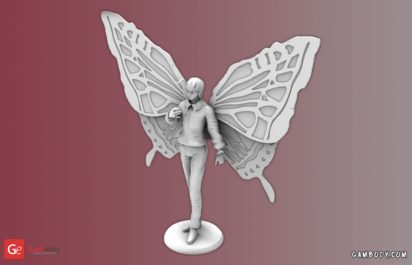Shaiapouf 3D Printing Figurine