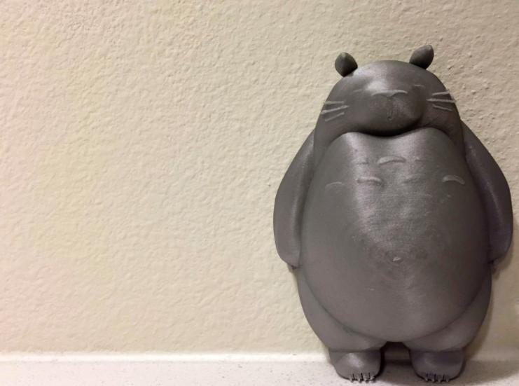Totoro 3D Anime Miniature