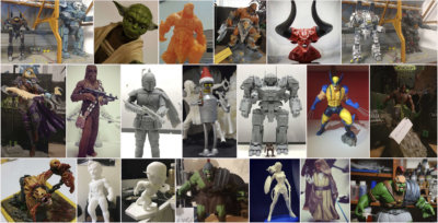 Feb' 3D Printing Figurines Pick of the Month