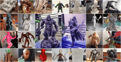 March 3D Printing Figurines Pick of the Month