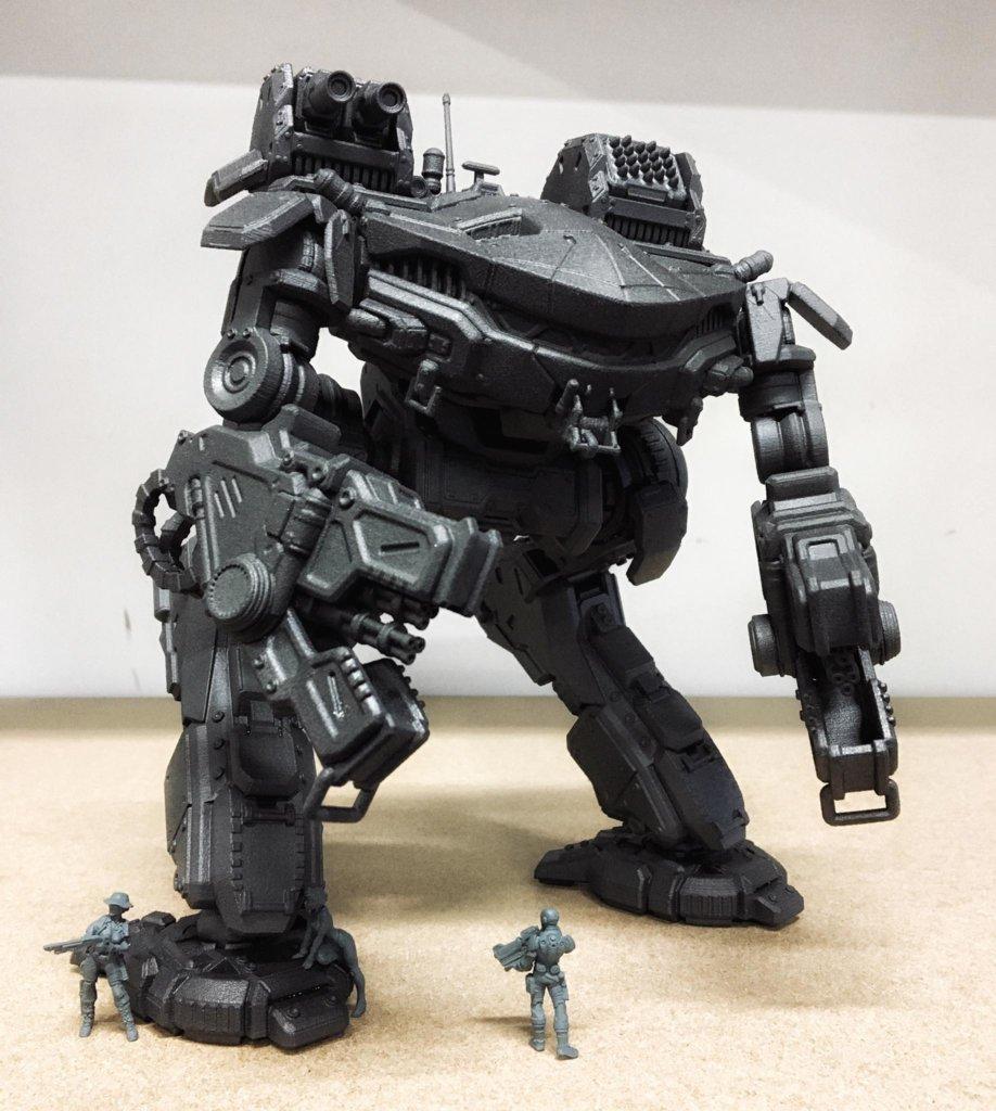 King Crab MechWarrior 3D Prints