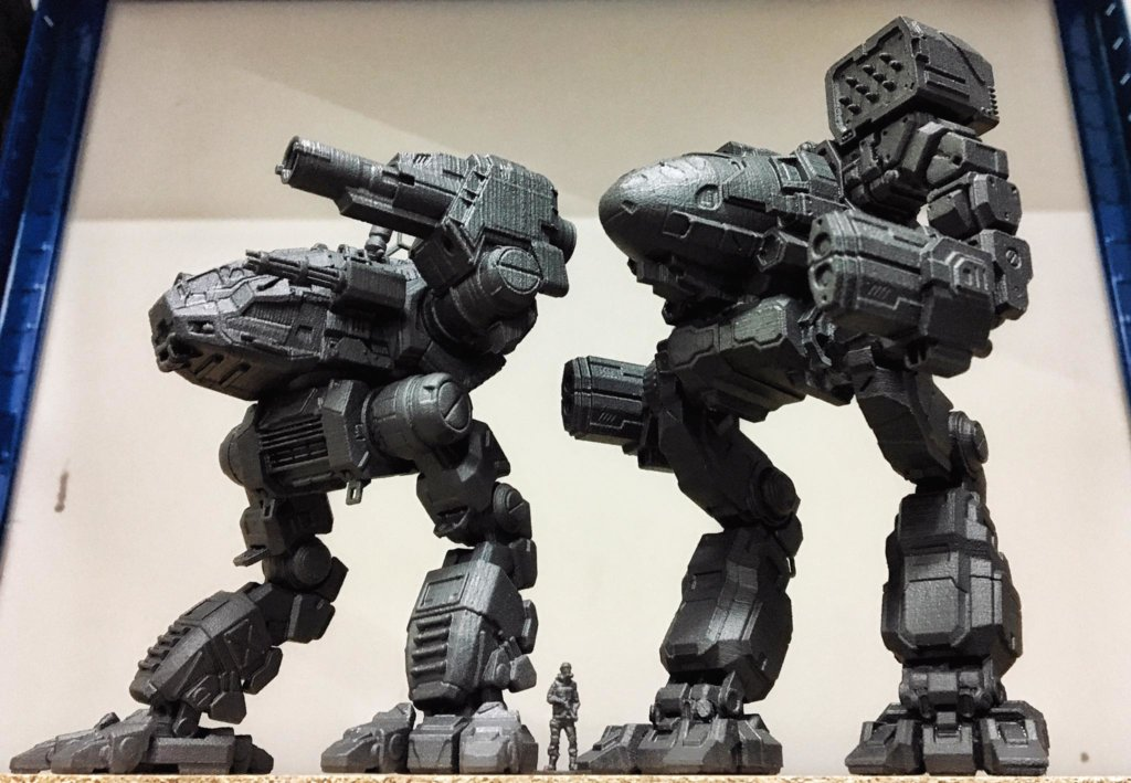 MechWarrior toys