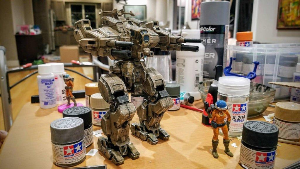 MechWarrior Rifleman toy