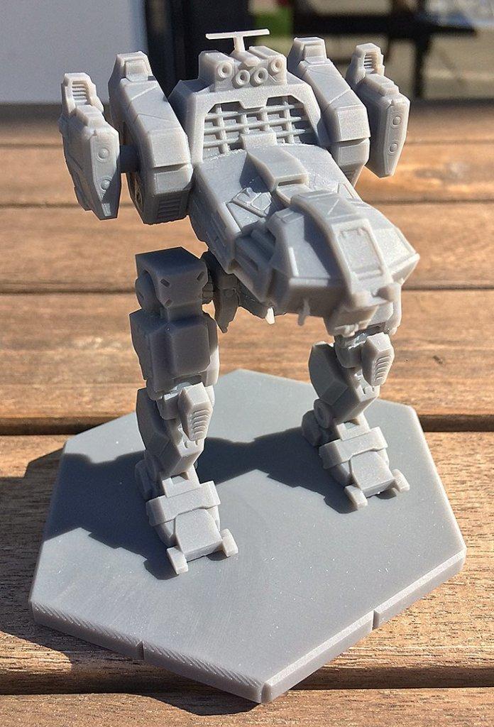 Jenner MechWarrior 3D Prints