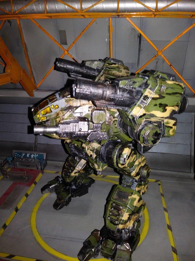 Catapult MechWarrior 3d prints