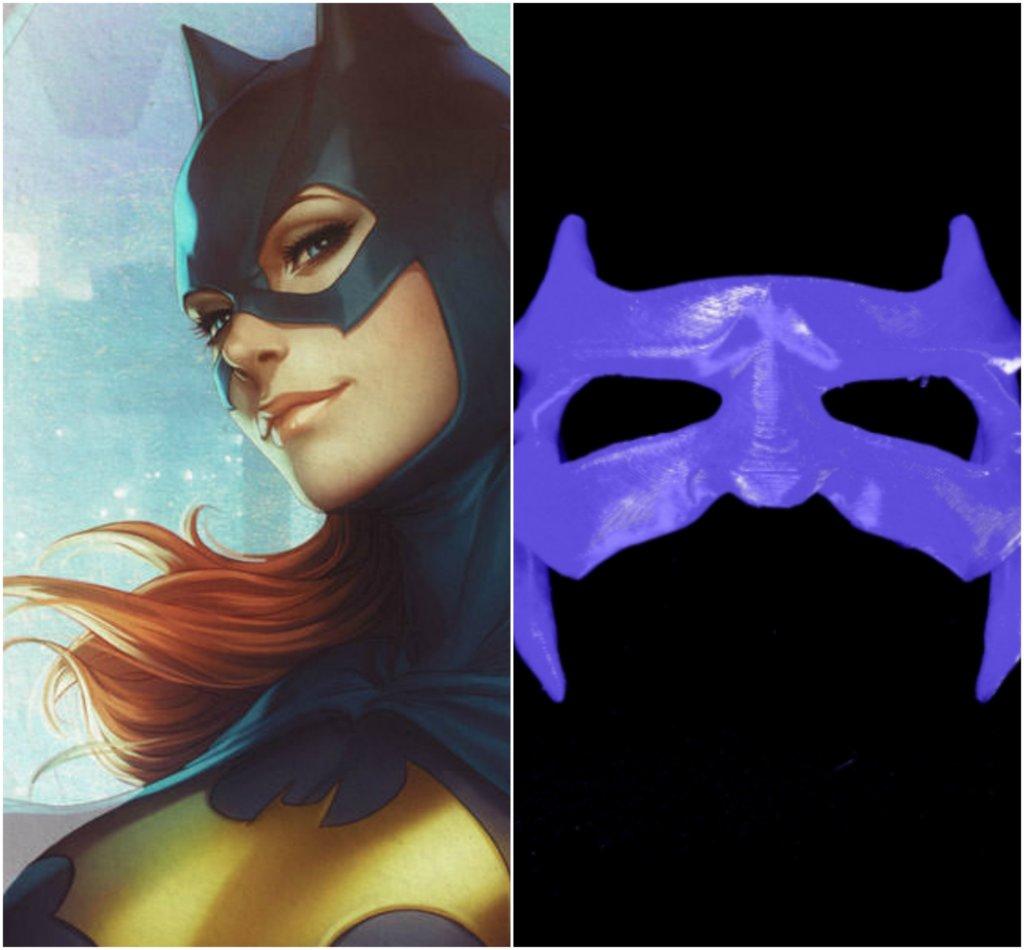 Batgirl DC Comics 3D printing miniatures