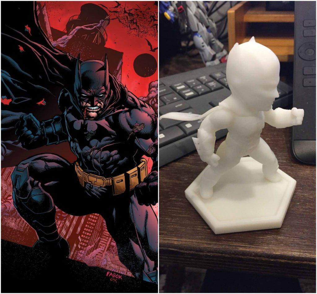 Batman DC Comics 3D printing miniatures
