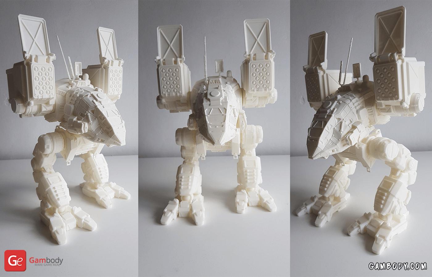 Catapult 3D Printing Model