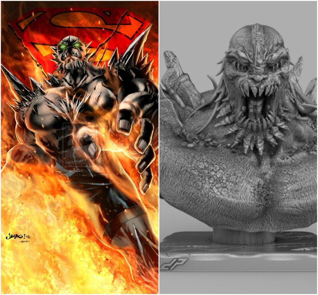 Doomsday DC Comics 3D printing miniatures