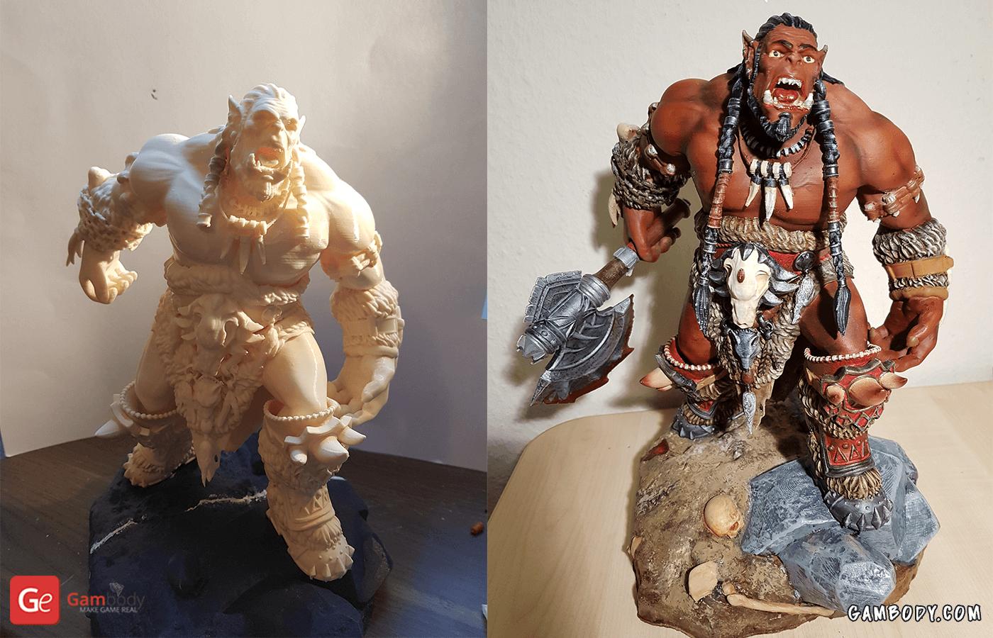 Durotan 3D Printing Figurine