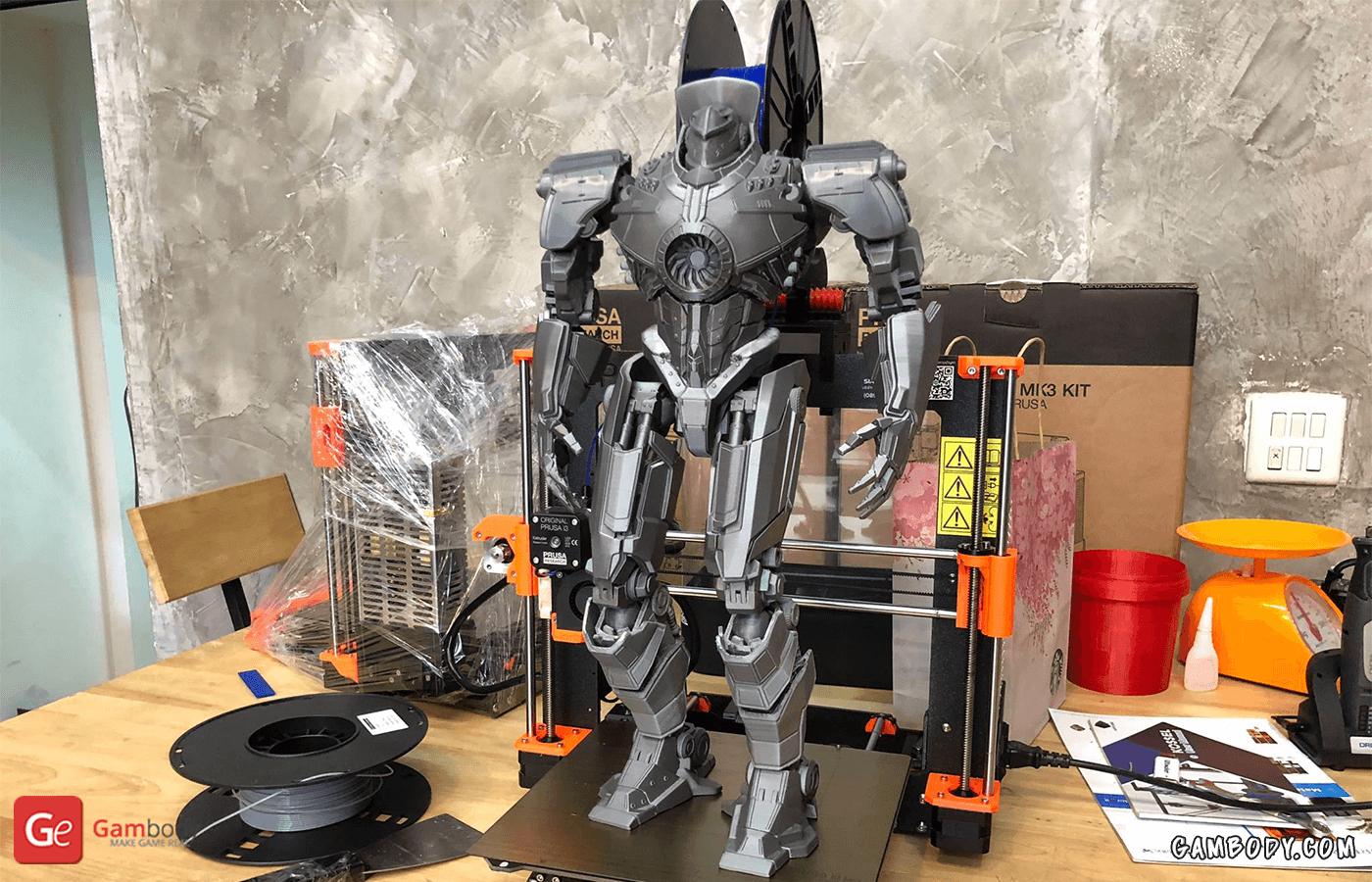 Gipsy Danger 3D Printing Model Photo 2