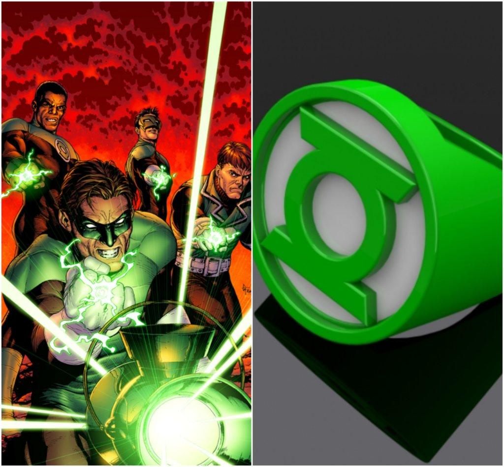 Green Lantern DC Comics 3D printing miniatures