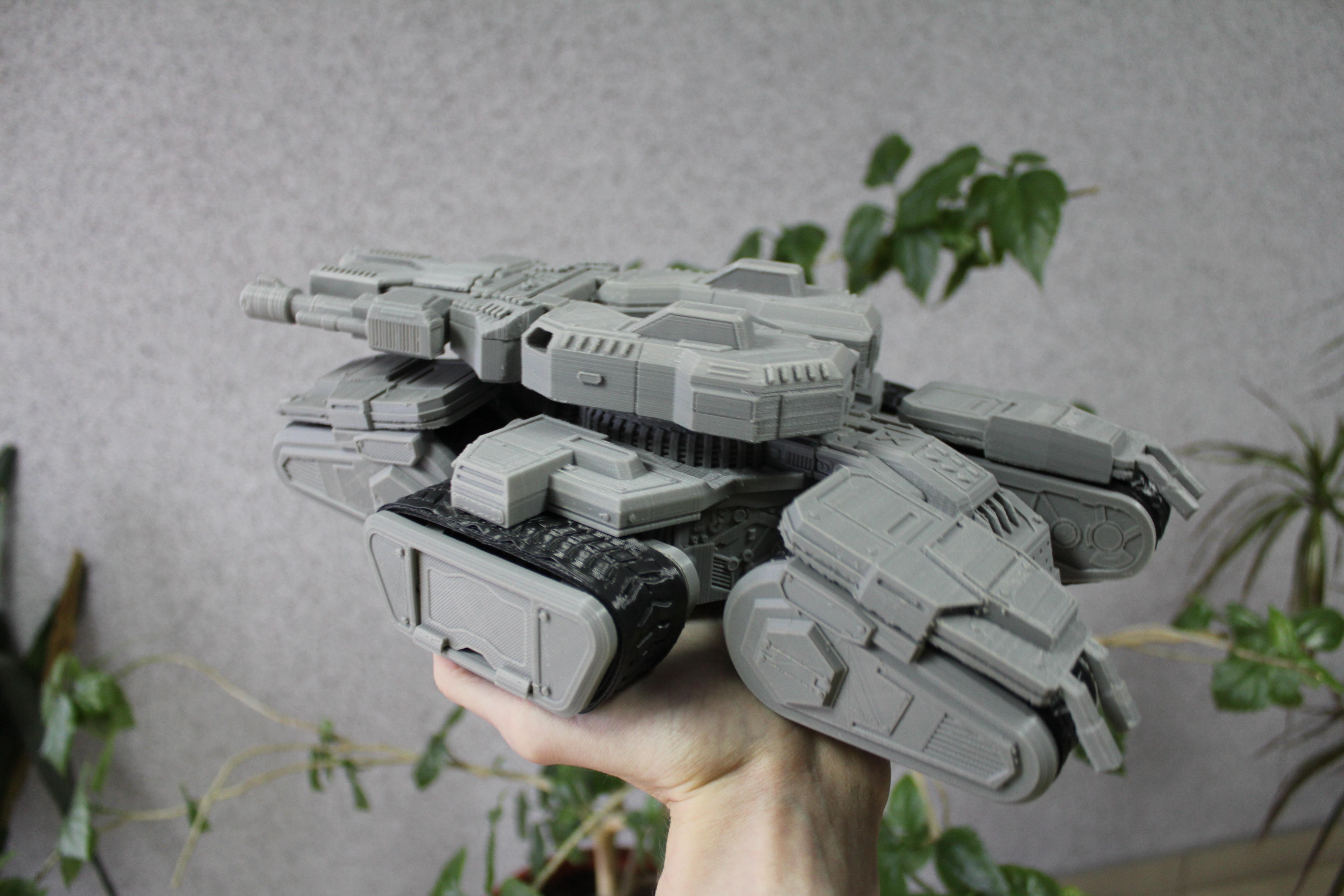 Siege Tank 3D Printing Figurine