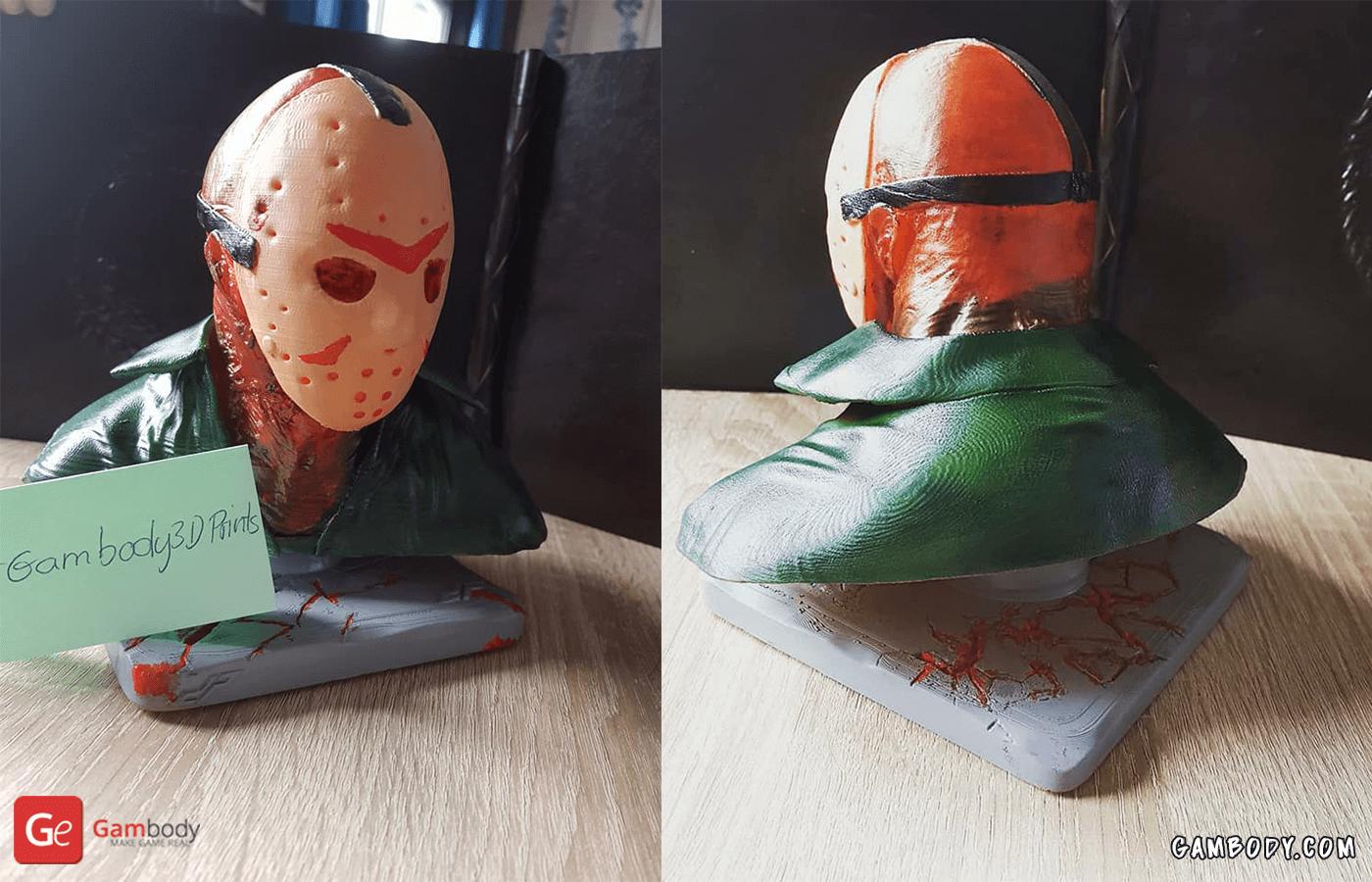 Jason Voorhees 3D Printing Bust
