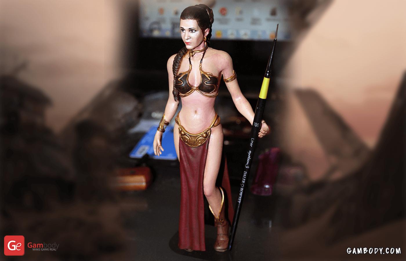 Princess Leia 3D Printing Figure
