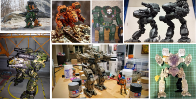 MechWarrior 3D Prints Showdown
