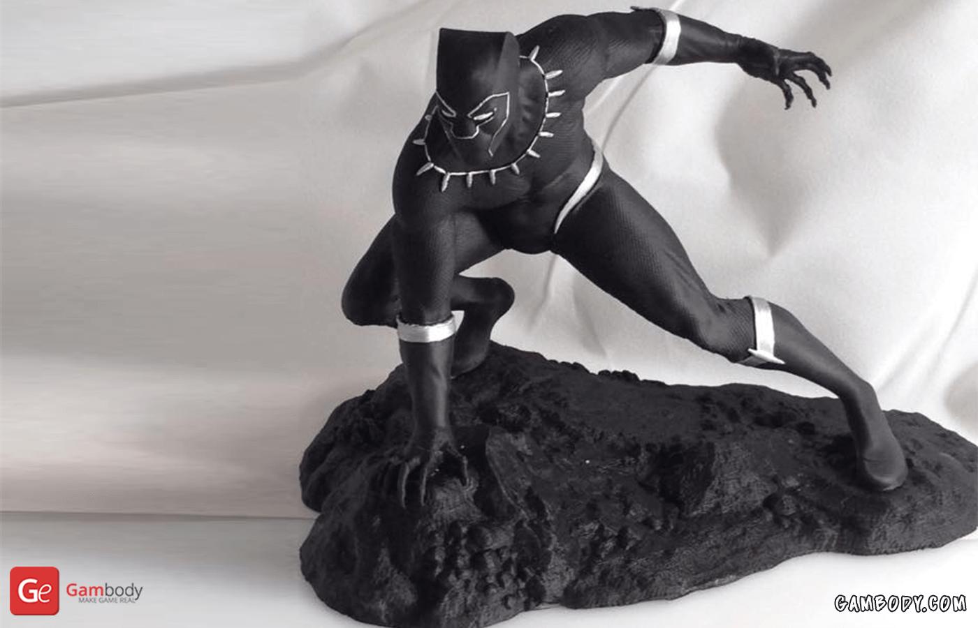 Black Panther 3D Printing Figurine