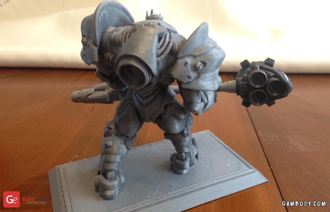 Reinhardt 3D Printing Figurine