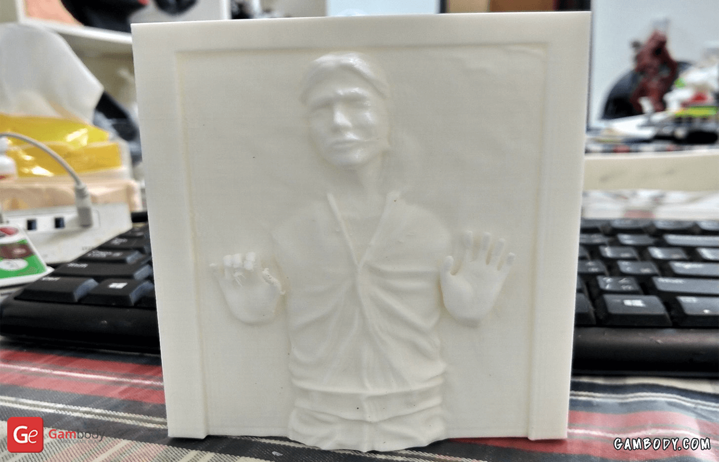 Han Solo in Carbonite 3D Printing Figurine