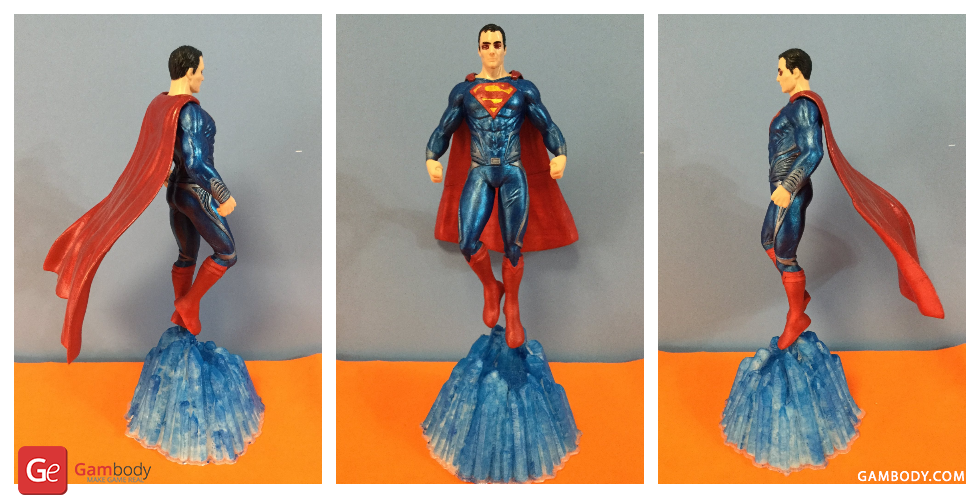Superman 3D Printing Miniature