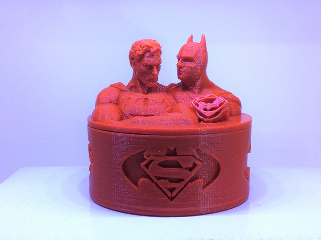 Superman 3D Printing Screw