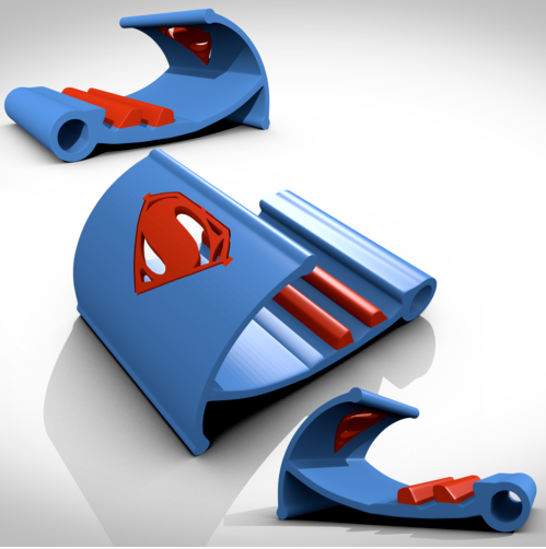 Superman 3D Printing Tablet Support