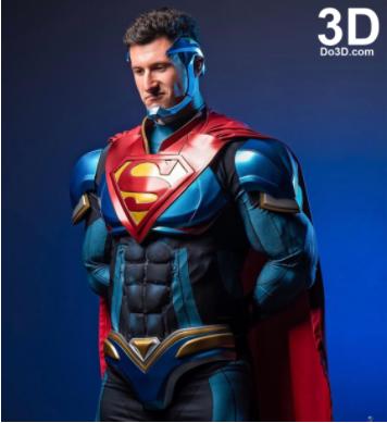 Superman 3D Printing armour