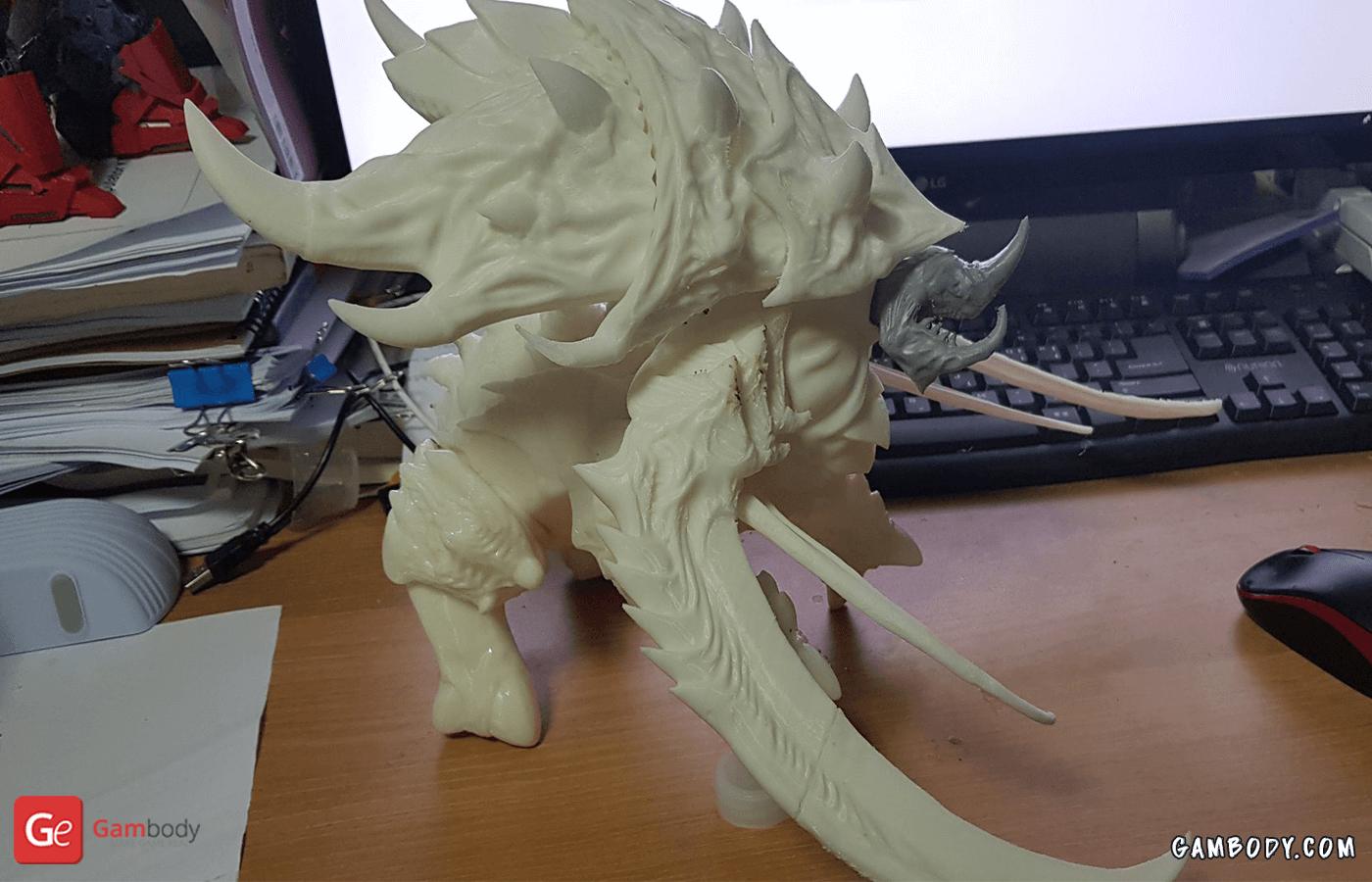 Ultralisk 3D Printing Figurine