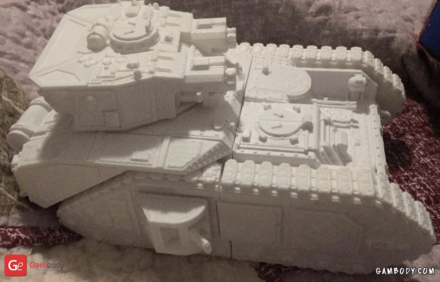 Vulcan Tank 3D Printing Model