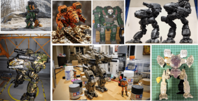 MechWarrior 3D Prints Showdown