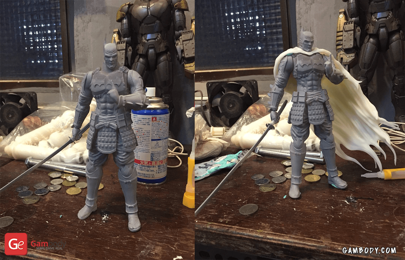 Batman Ninja 3D Prining Figure