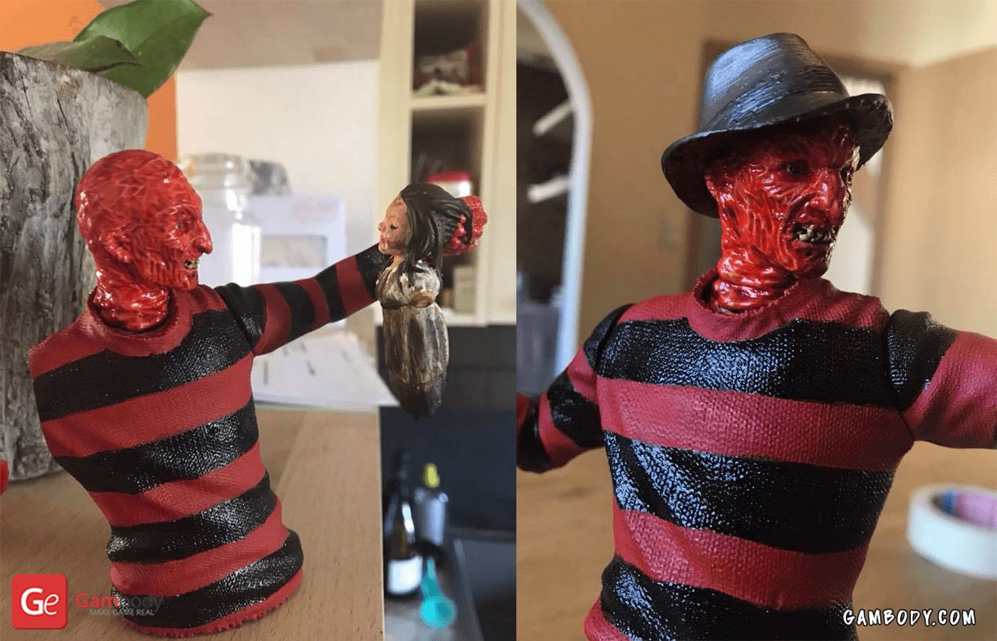 Freddy Krueger 3D printing Figure Photo 4
