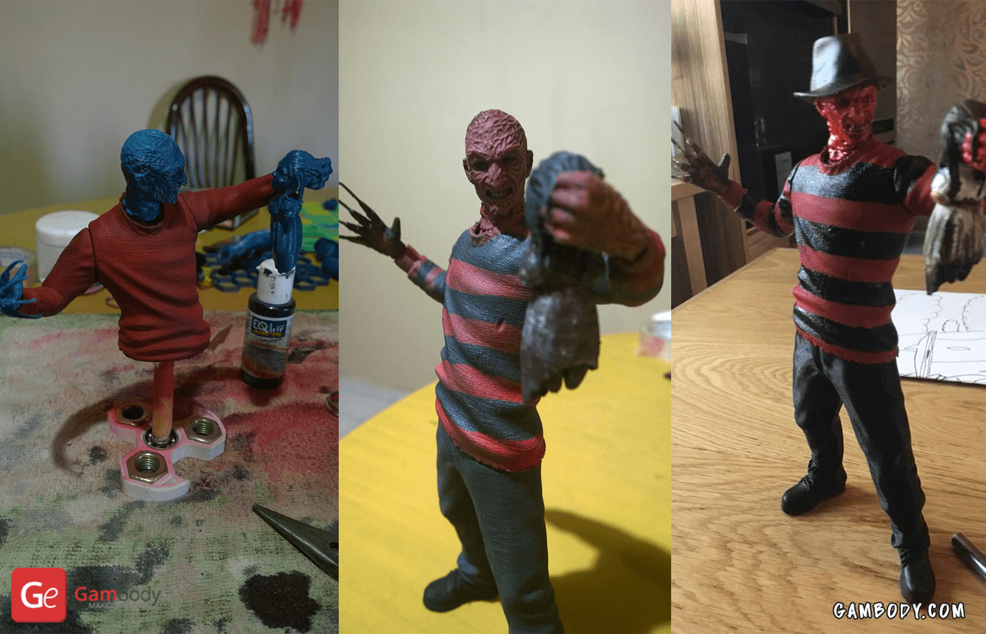 Freddy Krueger 3D printing Figure Photo 5