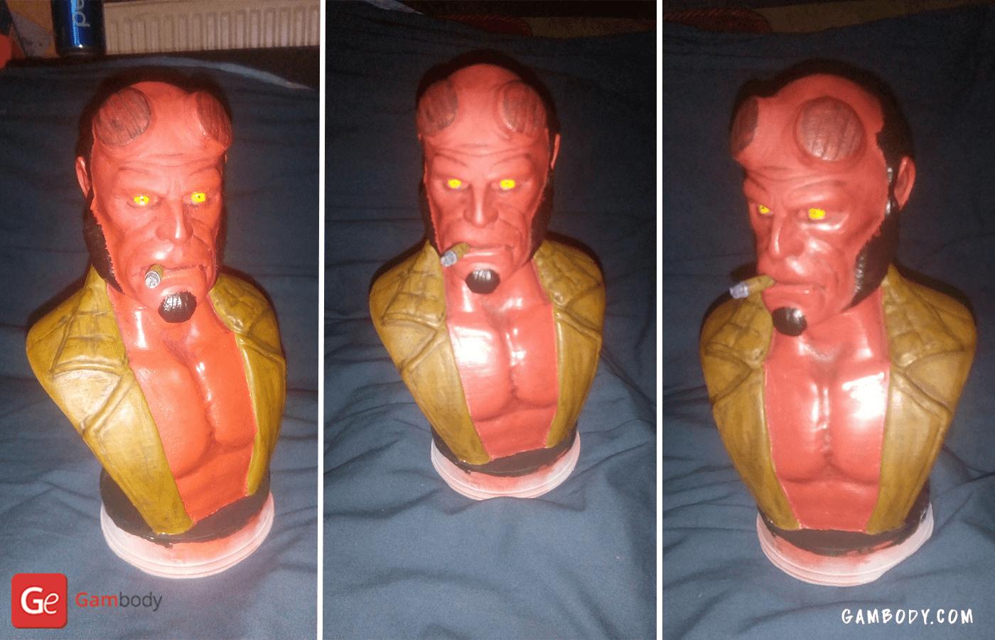 Hellboy 3D Printing Bust