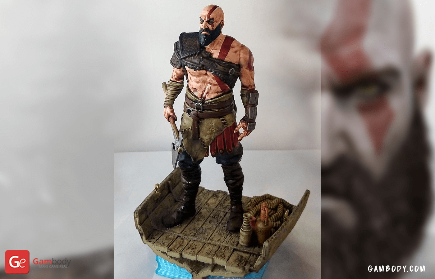 Old Kratos 3D printing Figurine