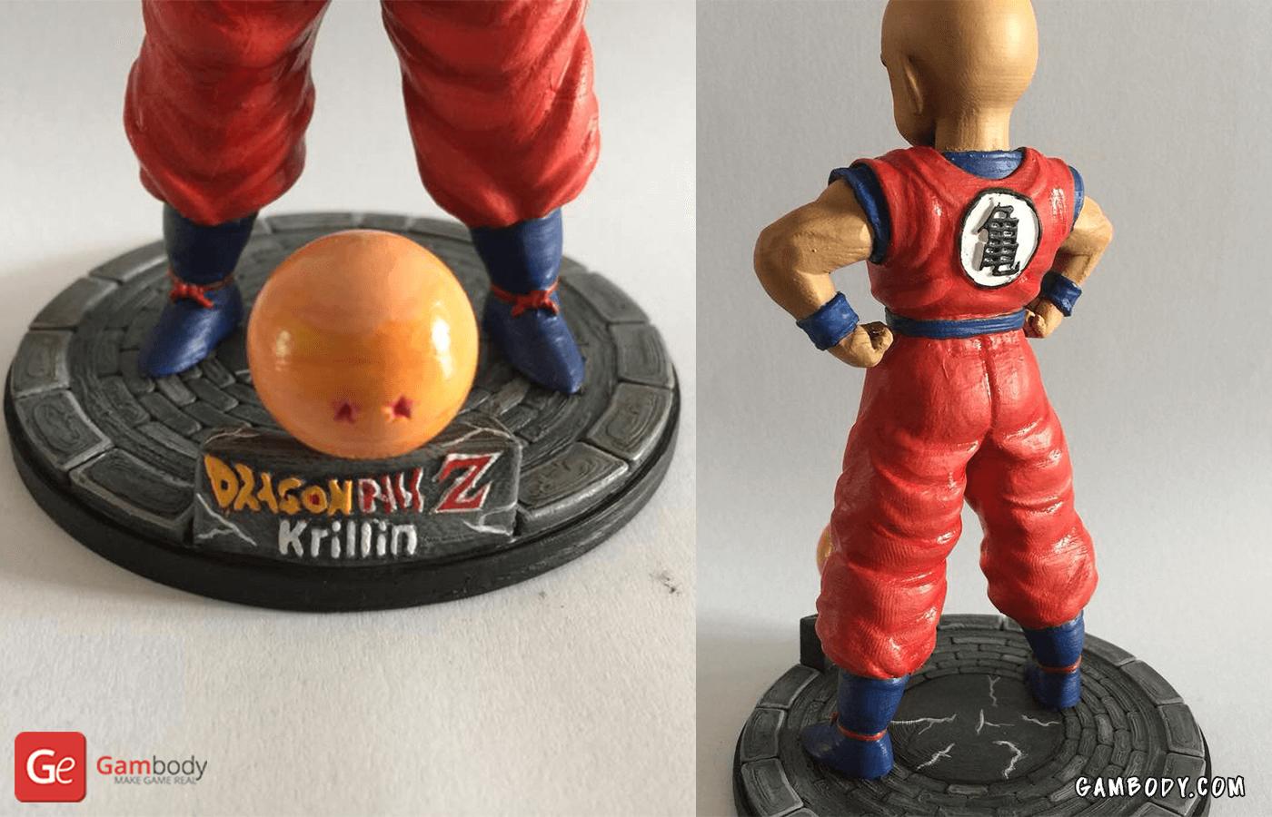 Krillin 3D Printing Figure Photo 2
