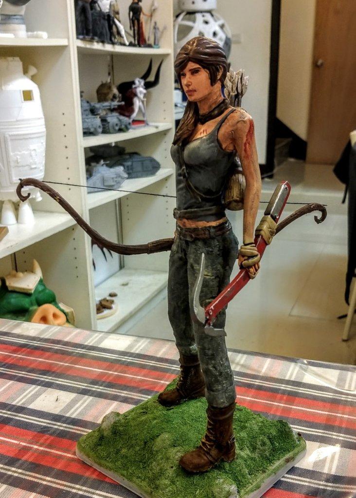Lara Croft 3D Printing Figurine