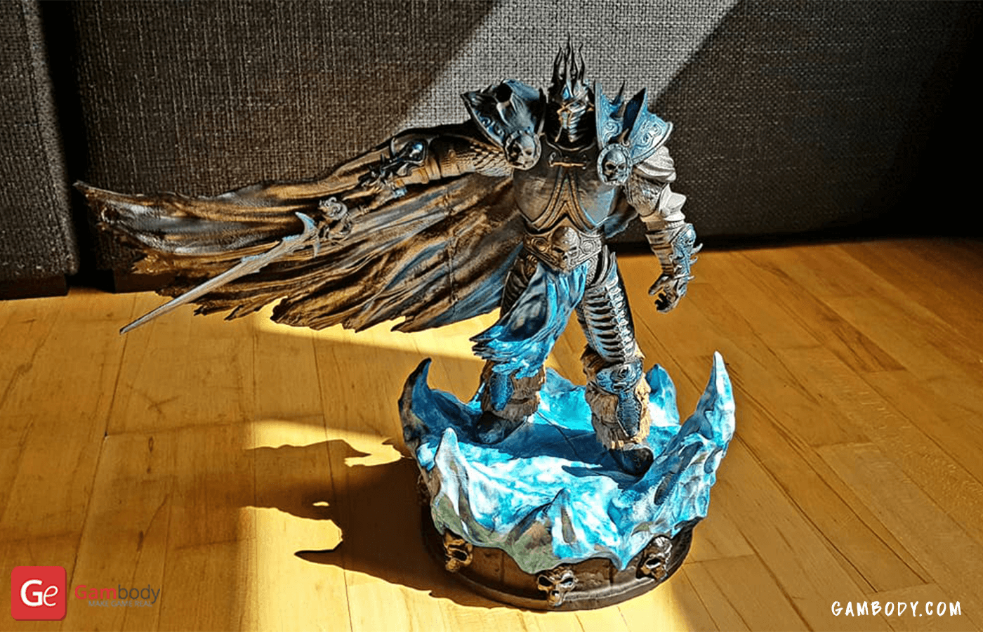 Lich King 3D Printing Figure Photo 4