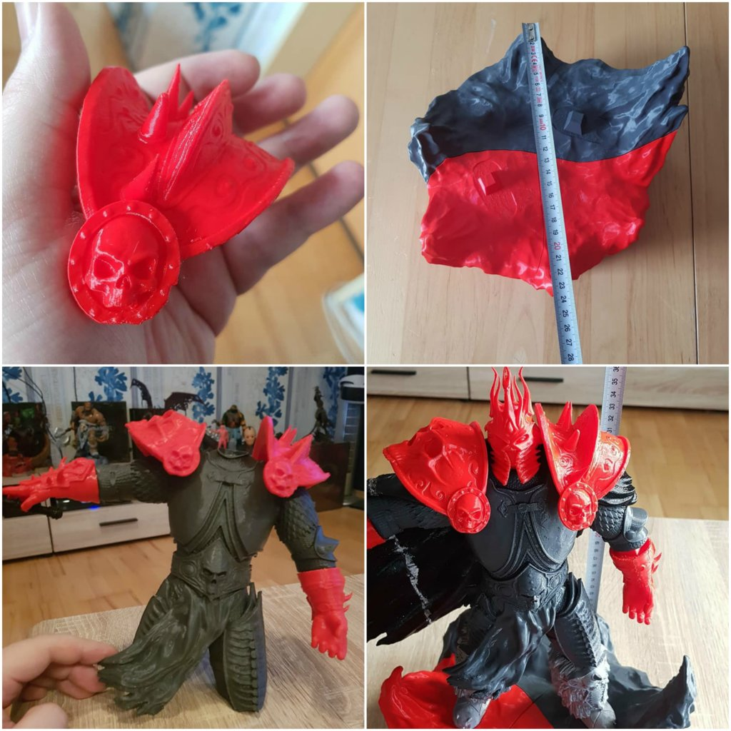 Lich King 3D Printing Figurine Photo 3