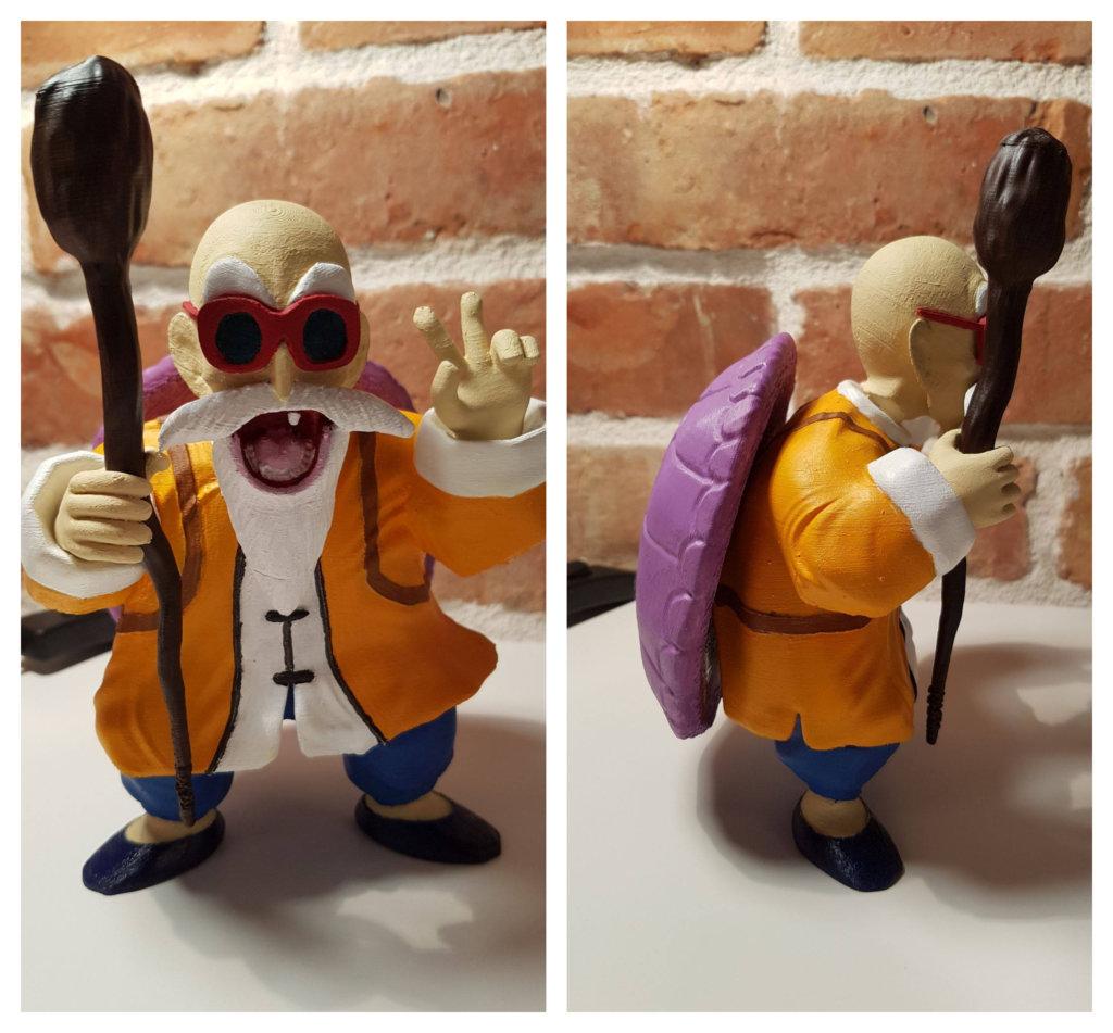 Master Roshi 3D Printing Figurine