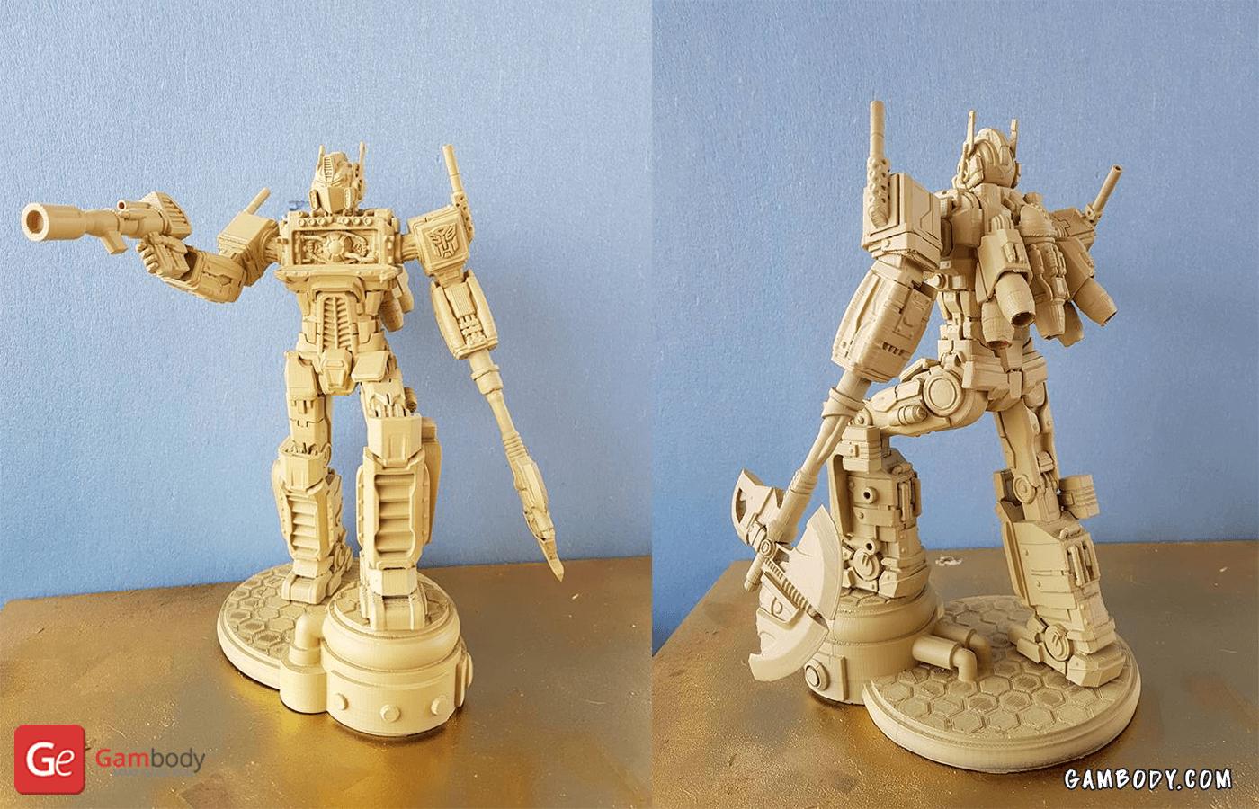 Optimus 3D Printing Model