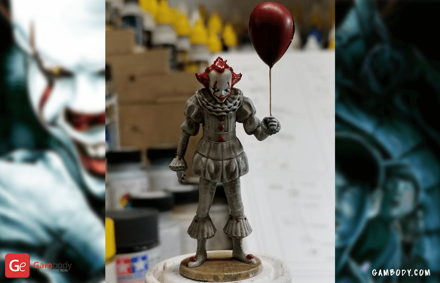 Pennywise 3D Printing Figure