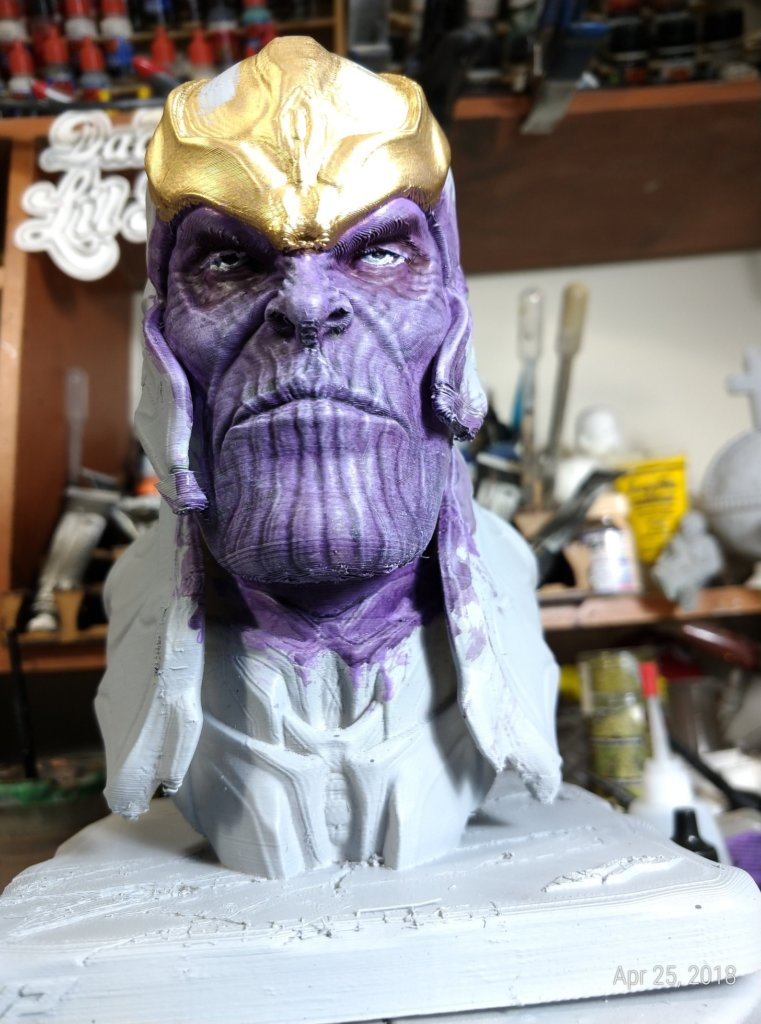 Thanos 3D Printing Figurine