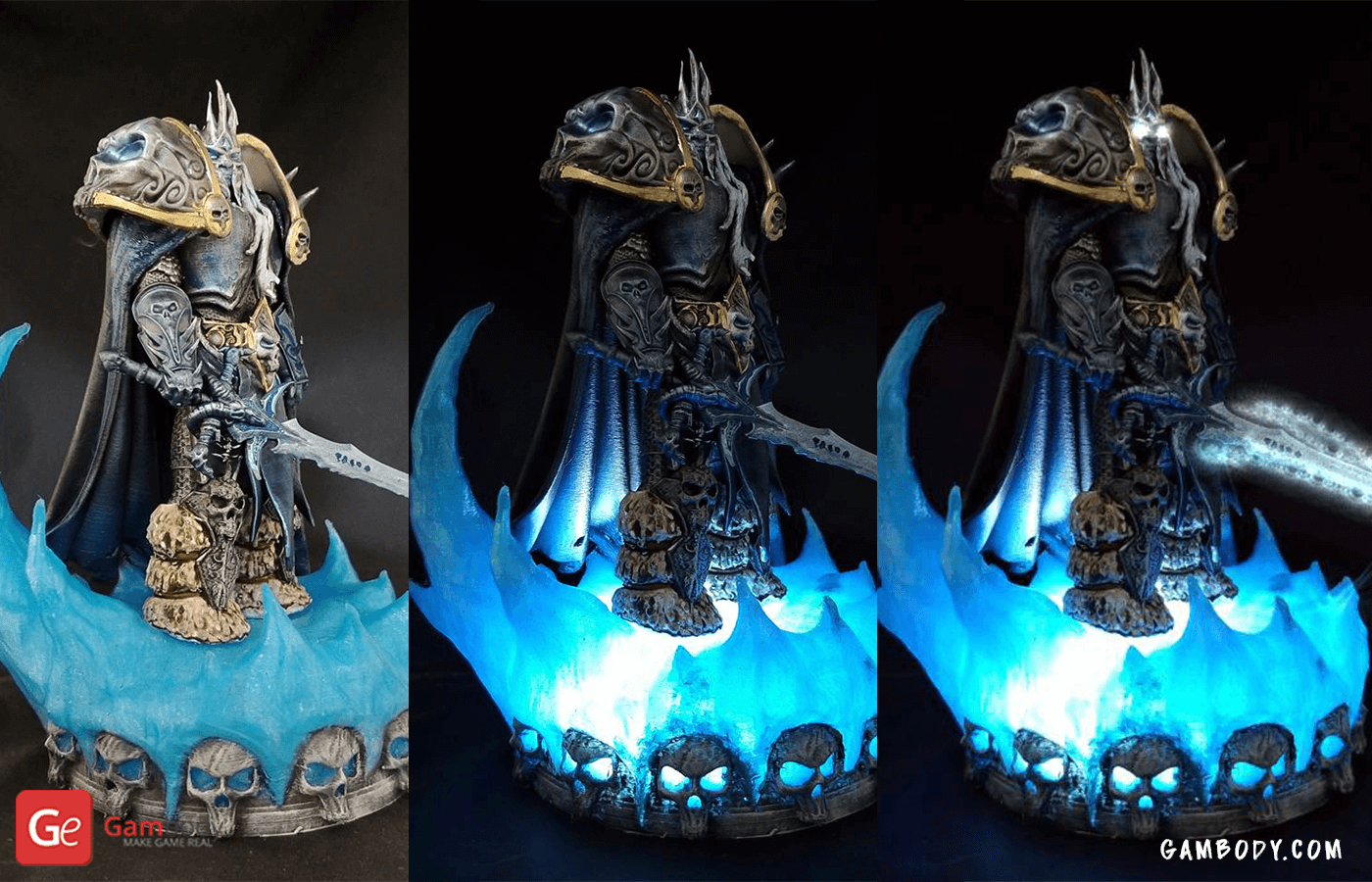 Lich King 3D Printing Figure